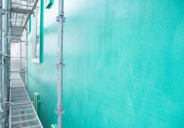 ガーディアンを塗った外壁
