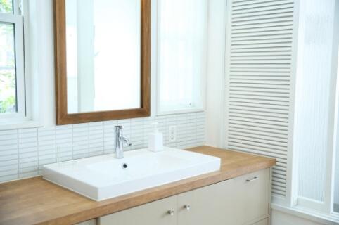 洗面台の写真