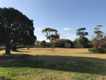 月ノ浦近隣公園の風景