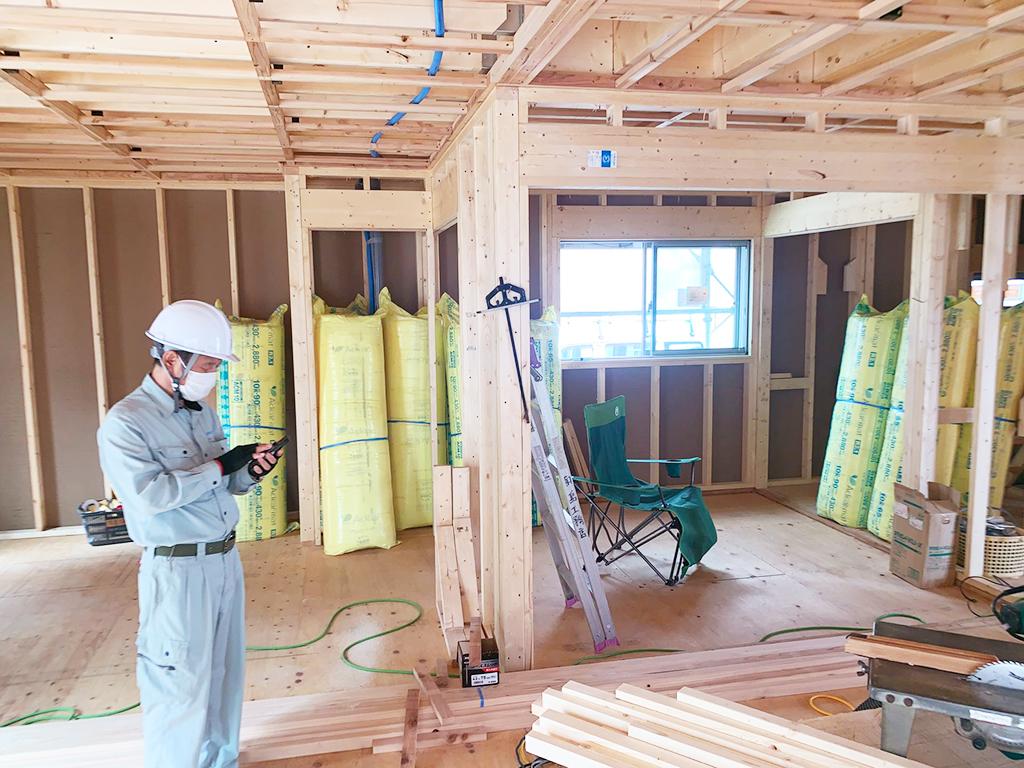 戸建て住宅 中間検査
