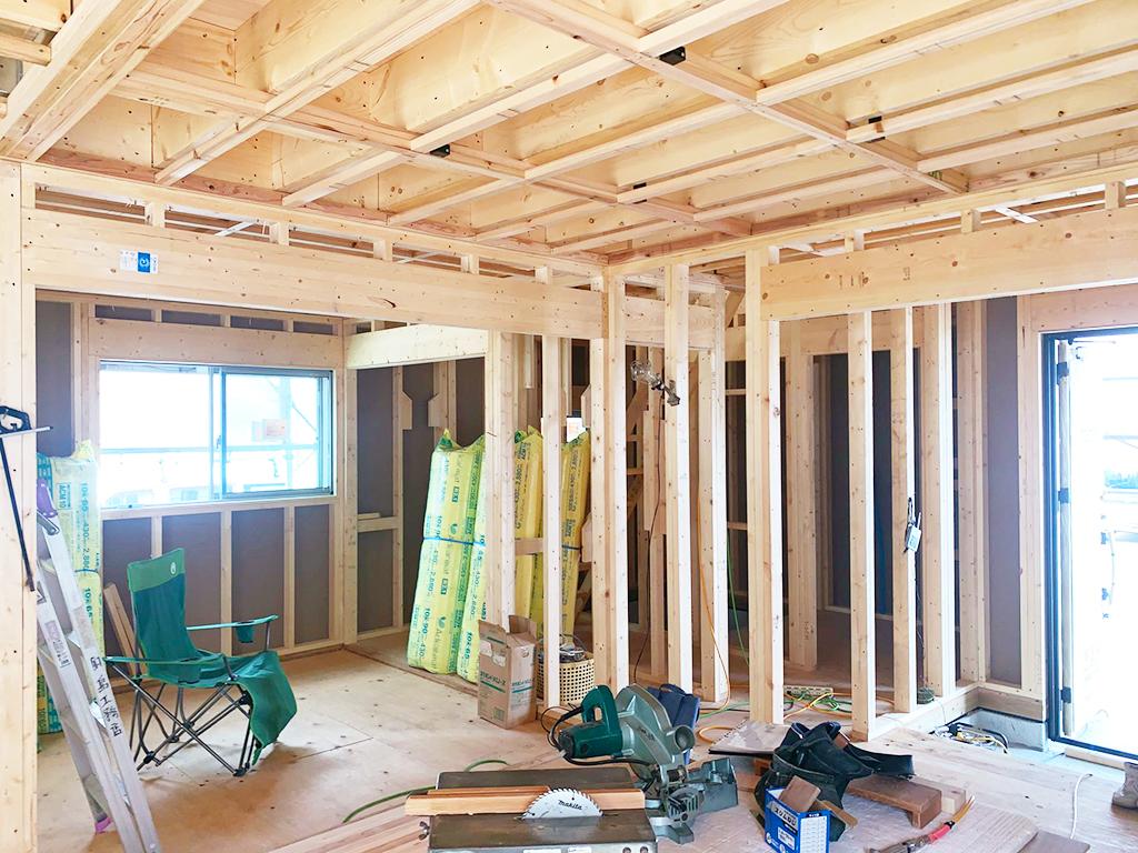 戸建て住宅 大工工事