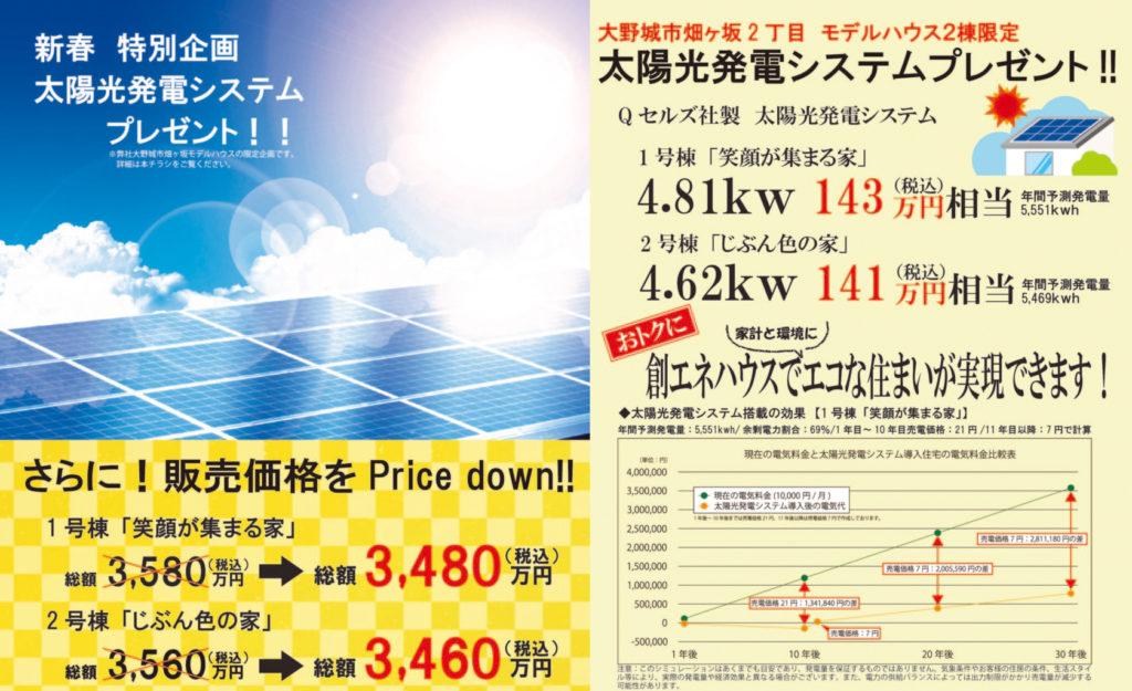 太陽光発電システムプレゼント